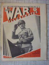 The War Illustrated #14 (Finland, Maginot Line, Warsaw, Rawalpindi, Bokrum, RAF)