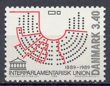 Dinamarca 1989 Yvert nº 957 Union Interparlamentaria