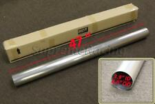 "RDT 4"" ROUND DIY T-304 STAINLESS STEEL STRAIGHT EXHAUST PIPING TUBE 4 FT LONG"