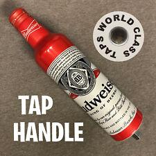 new RETRO BUDWEISER beer TAP HANDLE bar DRAFT marker tavern pub knob BUD