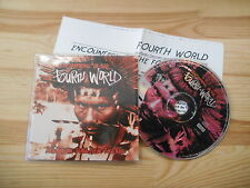 CD Ethno Forth World - Encounters Of The Fourth World (7 Song) B+W MUSIC / Press