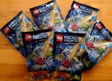 New 6 Bags of LEGO Nexo Knights 70372 Nexo Powers Wave 1 Sealed