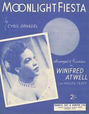 Moonlight Fiesta - Winifred Atwell - 1956 Sheet Music - Piano Solo