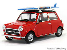 Mini Cooper 1300 red 1:24 Welly Diecast Scale Arts india Model