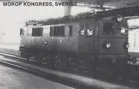 Ak Unread Morop Congress Sweden Litt. F 632 Baden Model Järnvägs (G2566)