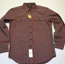 RRL By Ralph Lauren Plaid Twill Matlock Work Shirt