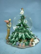 "8"" Musical Water Globe by Special Times MIB - Christmas Themed"