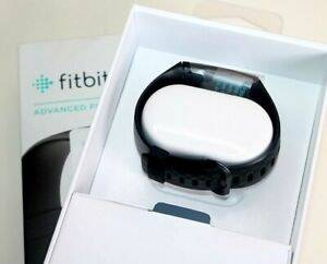 Fitbit Charge 4 Black Advanced Fitness Tracker Women's brand new