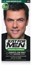 3x Just For Men Hair Colour Original Formula Shampoo-in Mens Hair Dyes