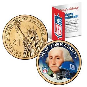 NEW YORK GIANTS NFL US Mint PRESIDENTIAL Dollar Coin