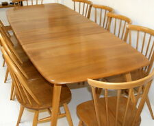 Ercol Grand Windsor Table. Solid Elm Wood. 1960s. Fully Restored Condition.