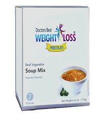 Doctors Best Premium - Beef Vegetable High Protein Diet Soup