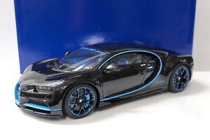 1:12 Kyosho Bugatti Chiron Edition 42 black / blue
