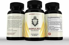 RAMULAST NATURAL TESTOSTERONE BOOSTER & MALE ENHANCEMENT 1 MONTH SUPPLY