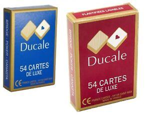 DUCALE 2 Jeux 54 Cartes De Luxe - France Cartes