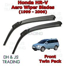(99-06) Honda HR-V Aero Wiper Blades / Front Windscreen Flat Blade Wipers HRV