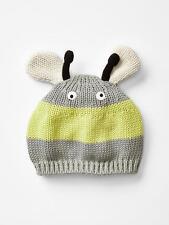 BABY GAP BOY BEE SWEATER HAT 0-3 months NWT M358