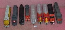Lot of 9 Vintage Model Train Locomotives_Atlas_Walthers_Life Like_Broadway.