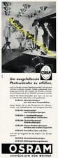 o. Reklame Werbe-Fotografie OSRAM Studio Steiff Stofftiere Spielzeug Puppen 1957