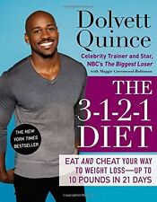 Book - Dolvett Quince - The 3-1-2-1 Diet : Eat and Cheat Your Way to Weight Loss
