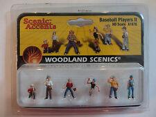 Woodland Scenics Ho #1870 - Baseball Players Ii