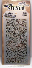 Doily Lace Pattern Layering Stencil - Stampers Anonymous Tim Holtz Collection
