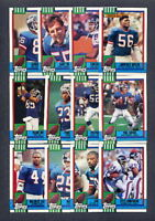 1990 Topps Football New York Giants TEAM SET + Traded
