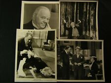Charles Winniger VINTAGE 4 Assorted Movie PHOTO LOT 102W