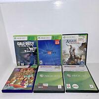 Lot of 6 Microsoft XBox 360 Games GTA V COD Ghosts Portal 2 Assassin's Creed III