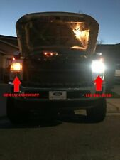 For F-250 F-350 F-550 Bright White LED Headlight+Switchback Signal Light Bulbs