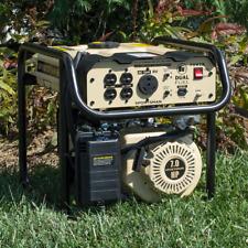 Home Emergency Generator Propane Gas Portable 4000 Watt Dual Fuel RV Compact Kit