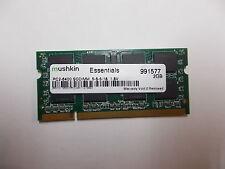 Mushkin Essentials PC2-8400 Sodimm,5-5-5-18,1,8V Laptop Memory, 2 GB, 991577