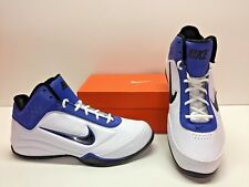 Nike Air Flight Showup Basketball White Blue Trainer Sneakers Shoes Mens 10.5