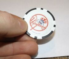 NY New York Yankees Regulation Quality Poker Chip Souvenir Golf Ball Marker Blk