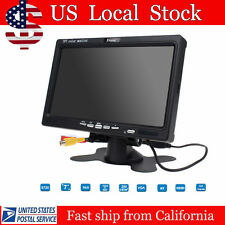 Portable High Quality LCD TFT Color Monitor Display HDMI VGA AV RCA Input B01