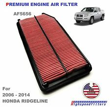 AF5656 PREMIUM ENGINE AIR FILTER For 2006 - 2014 HONDA RIDGELINE CA10015 AF4002
