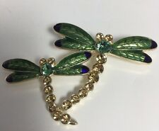 Dragonflies Brooch New Inc International Two Beautiful