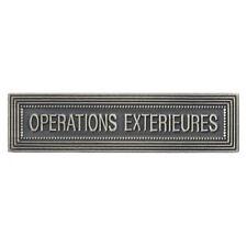Agrafe pour médaille Ordonnance OPÉRATIONS   EXTÉRIEURES