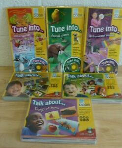 x6 Various Yellow Door CD/Card Educational Language Learning Packs (Hospiscare)