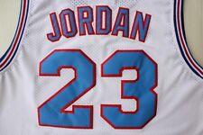 Jersey Space Jam Tune Squad Basketball White Stitched Black Michael Jordan 23