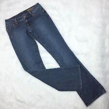 Seven 7 Jeans Classic Flare Womens Size 26 Stretch Low Rise Hippie Premium Denim