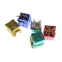 10pcs Dollhouse Miniature Box Christmas Dollhouse Decoration Gift Toy FF