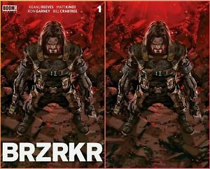 BRZRKR #1 Kael Ngu Virgin Variant Set LE 666 Keanu Reeves Scorpion Comics