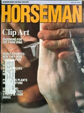 1990 Horseman Magazine: Clip Art- Grooming for the Show Ring/Rodeo Cowboys