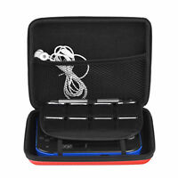 Hard EVA Storage Zip Case Protective Shell With Carry Handle For Nintendo 2DS  M
