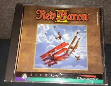 Red Baron II 2 - Sierra Dynamix 1997 PC CD-ROM for Windows 95/98