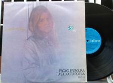 PAOLO FRESCURA / TU CIELO, TU POESIA - LP (Italy 1976) VG+ / EX