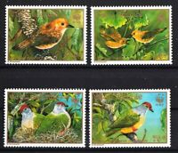 WWF Endangered Birds set of 4 mnh stamps 1989 Cook Islands #1016-9