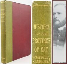 1914*HISTORY OF THE PROVINCE OF CAT(CAITHNESS & SUTHERLAND)REV.ANGUS MACKAY*WICK