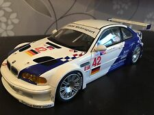 1/18 Minichamps BMW M3 GTR 2001 J J Lehto Dealer Edition Race Car